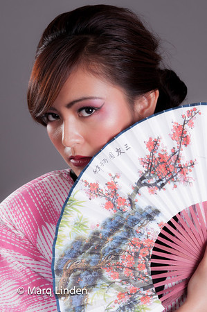 Geisha Model Shoot