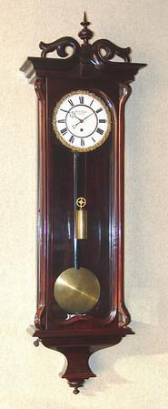VR-304 Late Biedermeier Vienna Regulator Timepiece by Josef Radda in Olmutz