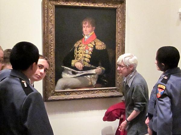 Spanish Classes attend the Picasso Exhibit at VMFA