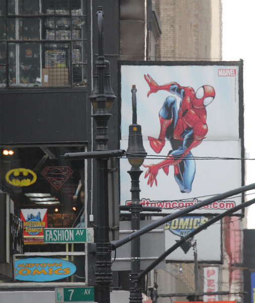 Ad for Spiderman