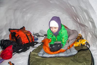 Schneewechtenbiwak Häuslalm III - März 2013