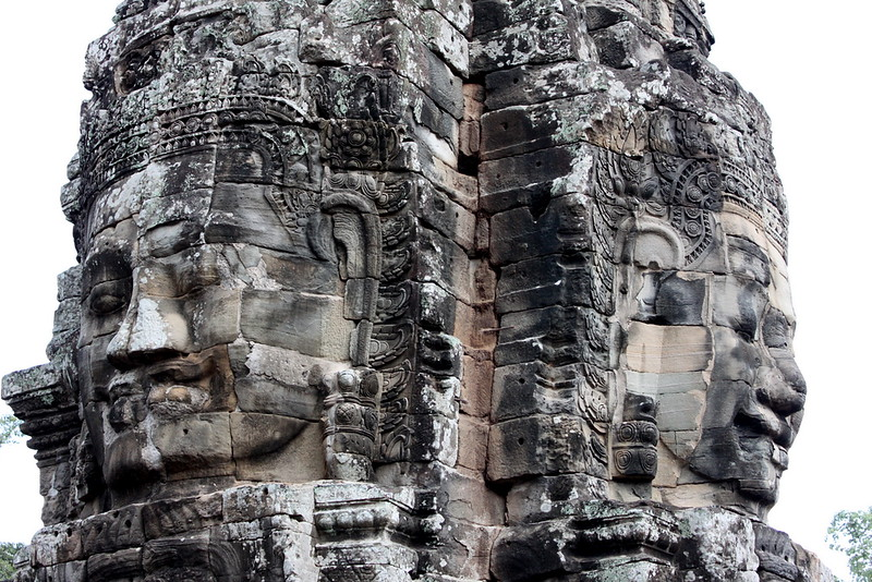 Smiling faces at The Bayon