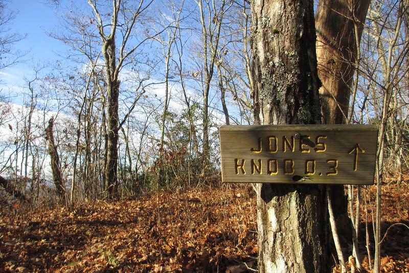Bartram Trail-Jones Knob Spur Junction