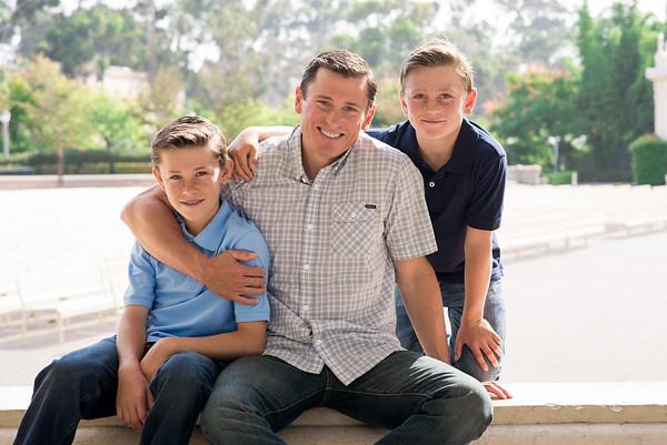 WB Family Portraits Balboa Park 92101