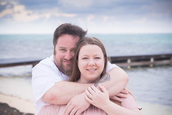 3-Cayman Erin & Cory Engagement Photos