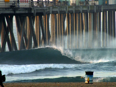 1/24/21 * DAILY SURFING PHOTOS * H.B. PIER