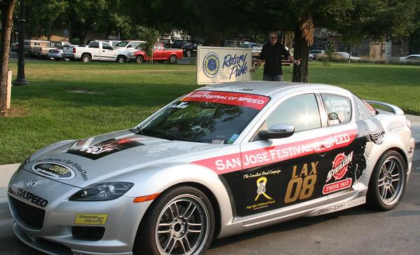 SJ Festival of SPEED Mazdas