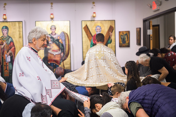 Holy Unction at St. Andrew's