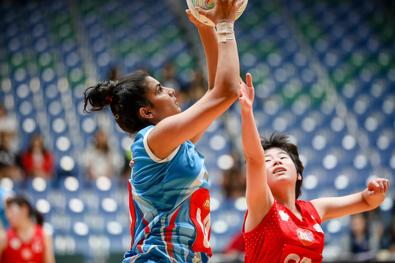 M1 Asian Netball Championships 2018 - India Vs Japan