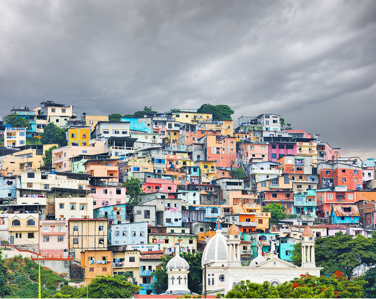 Las Peñas area, Guayaquil, Ecuador