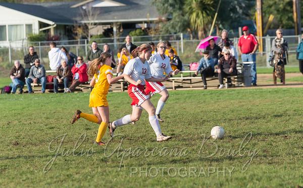 161018 CHS Girls Soccer vs NBHS