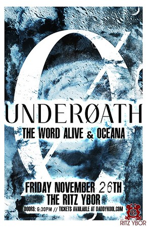 Underoath November 26, 2010