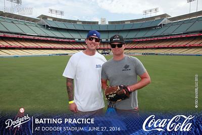 062716 Coca Cola Batting Practice