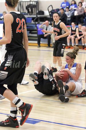 Girls Basketball, Van Buren vs Danville 1/15/2013