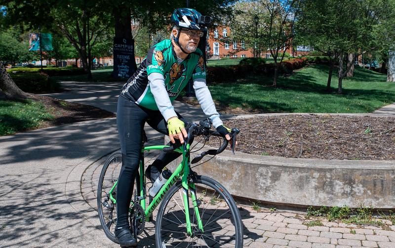 04.27.20 President Gilbert's Marshall Bike Tour