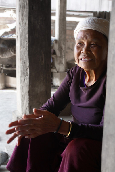 Dai 80 years old woman