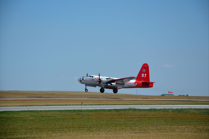 Firebombers heading out from Rapid City