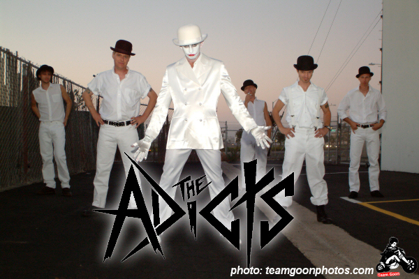 The Adicts publicity shot  The Adicts official website is-:  http://www.adicts.us The Adicts official My Space is-:  http://www.myspace.com/adicts