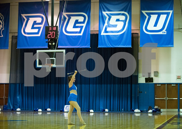 11/30/17 Wesley Bunnell | Staff CCSU Men's Basketball defeated North Carolina A&T on Thursday evening at Derrick Gymnasium in New Britain.