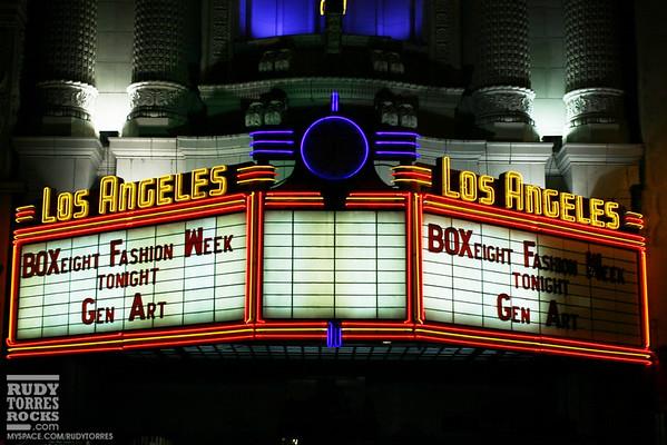Gen Art & BOXeight L.A. Fashion Week Day 1