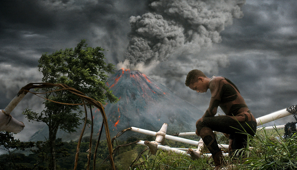 """. Jaden Smith stars in Columbia Pictures\' \""""After Earth,\"""" also starring Will Smith. Courtesy of Columbia Pictures."""