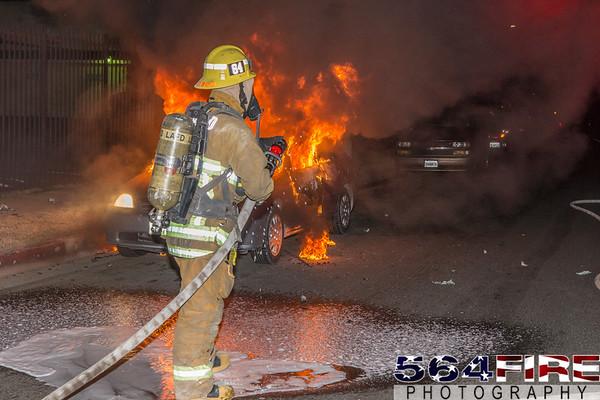 LAFD - Auto Fire - 1-16-16
