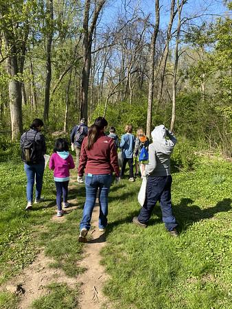 Wissahickon Creek Cleanup 4-24-2021