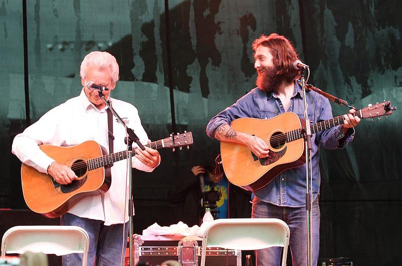 Chris Robinson & Del McCoury