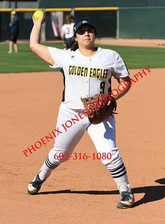 3-24-2017 - Bourgade Catholic v Glendale - Softball Game
