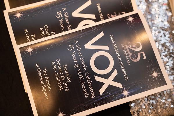 PRSA Memphis  VOX Awards