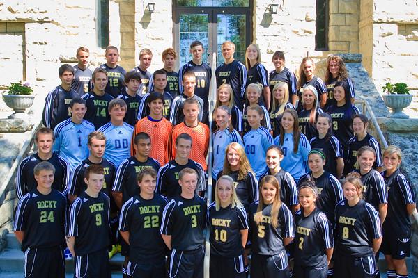 Men's Soccer, Team Photo '10