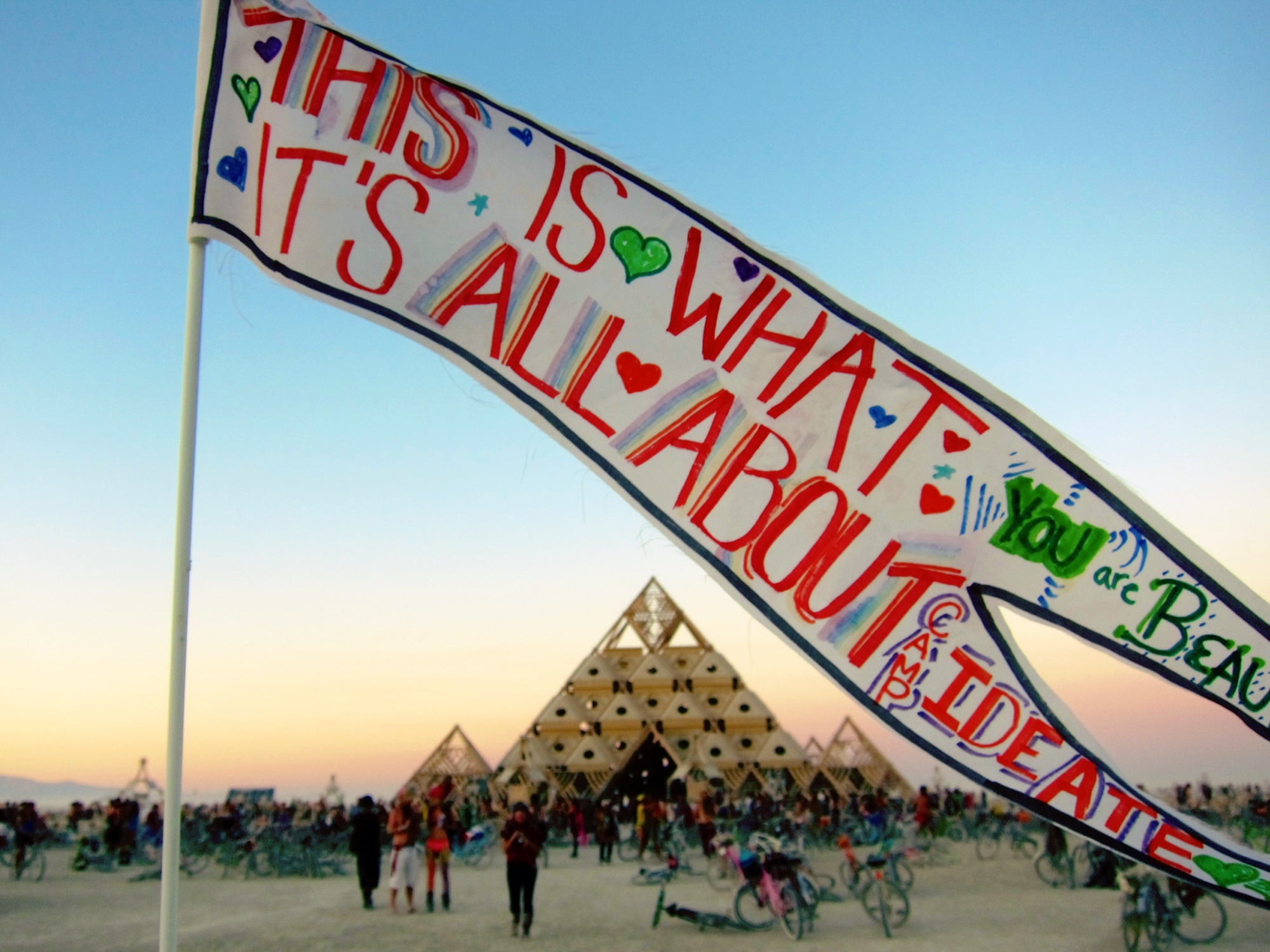 Burning Man Temple 2013