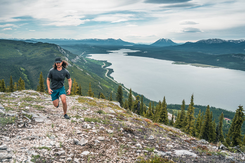 Trail Running in Carcross Yukon 2018
