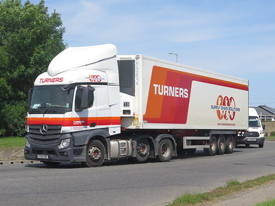 South Lincs A16 Trucks