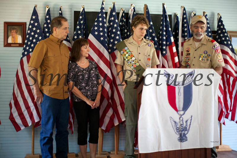 Eagle Scout Ceremony for Weston036