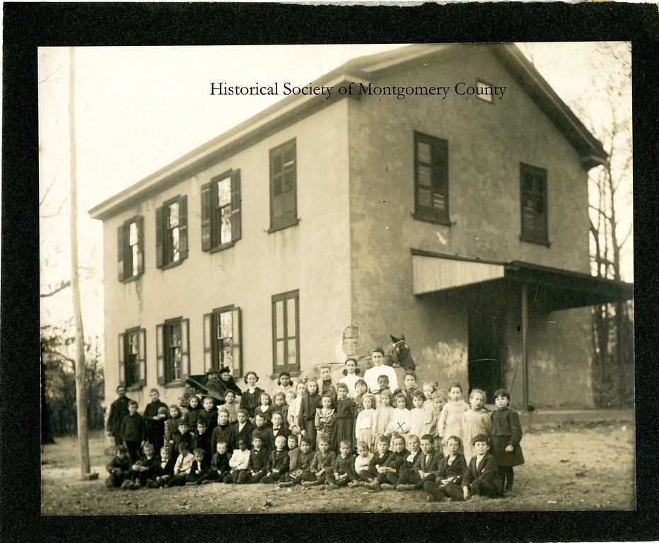 . This undated photo from the Historical Society of Montgomery County shows the Port Kennedy School.  It was built in 1912 and remained in use until 1960.