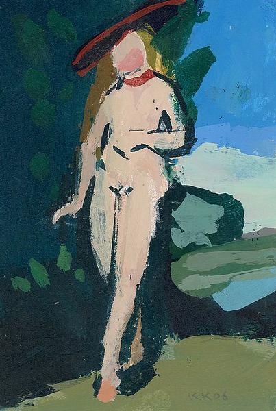 Venus in a Landscape (after Cranach)