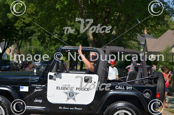 Elgin, IL Fourth of July Parade 7-4-12