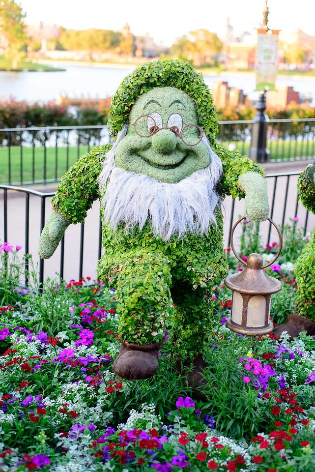 Doc Topiary - Epcot Flower & Garden Festival 2016