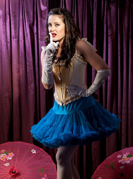Irish Burlesque School VCC Shoot