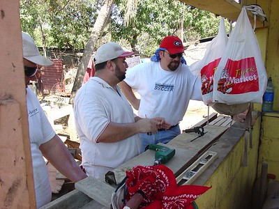 2005 Nicaragua Building Campaign