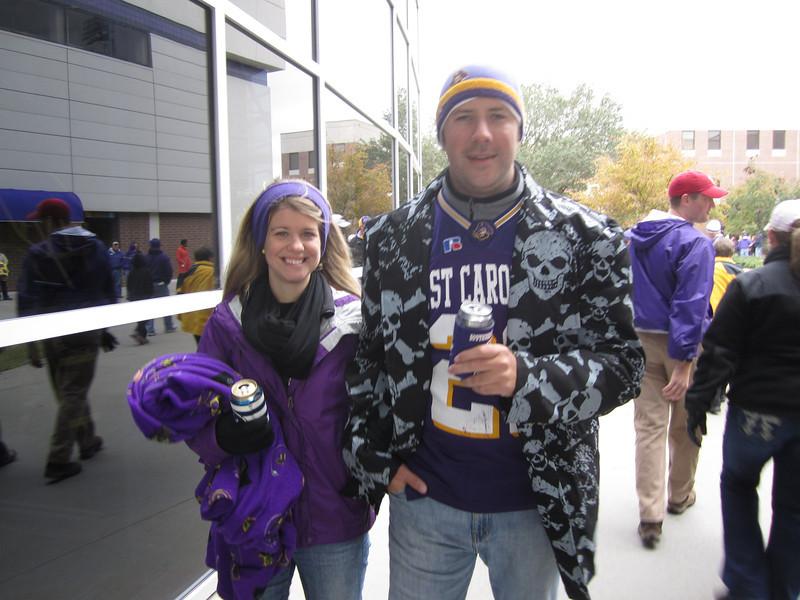 10/29/2011 ECU vs. Tulane (Homecoming) - Jen Snow, Preston Hubbard