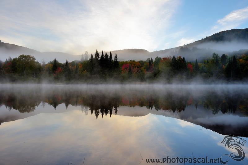 Lac au matin