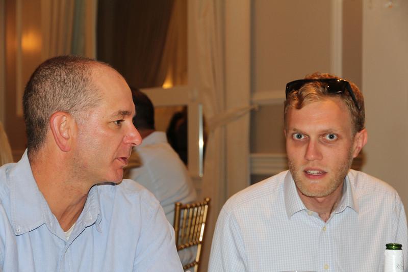 Chris & graduation guest speaker, Lyle Trued