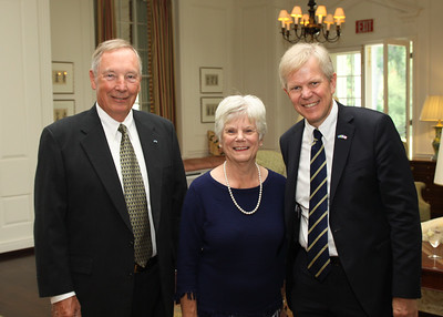 July 19,  Luncheon at The Country Club with Swedish Ambassador Björn Lyvall and  Deputy Chief Göran Lethill