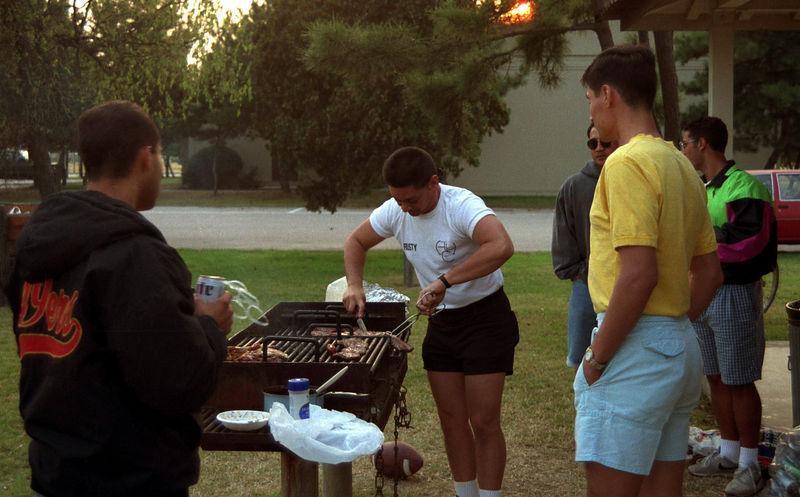 1992 09 19 - BBQ at Falcon field 14.jpg