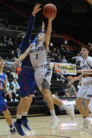 Wilsonville vs. Churchill Boys HS Basketball