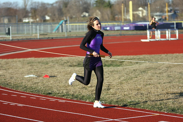 2008 LADY HUBS TRACK vs BATAVIA, GB SOUTH