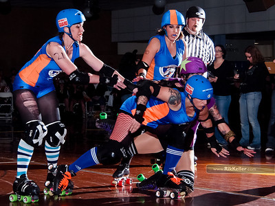 Sac City Rollers - Star-Spangled Splatter!  5/28/2011