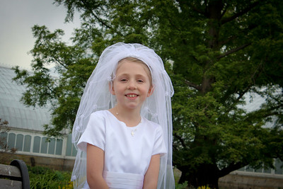 Ava's Communion~April 28, 2012